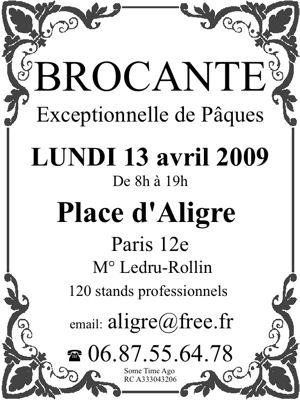 BROCANTEs Paris | La BROCANTE Antiquité